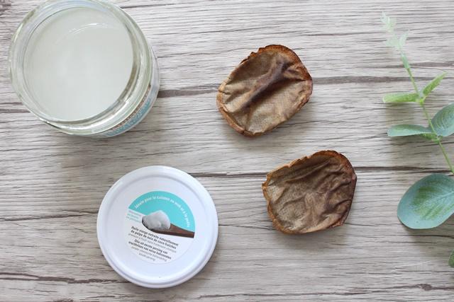 soin fait maison - soin naturel - produit maison- huile de coco - marc de cafe