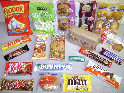 حذاري من الحلويات و الأطعمة المصنعة