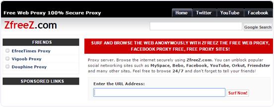 free-proxy-website-zfreez