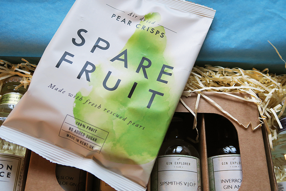 Spare Fruit Pear Crisps in the The Gin Explorer Club January Box