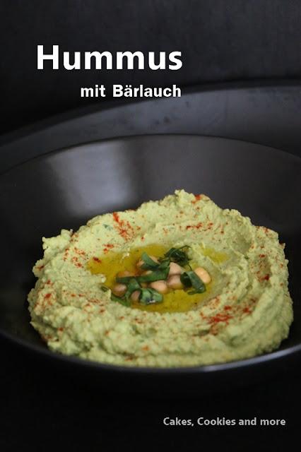 Rezept für Bärlauch Hummus