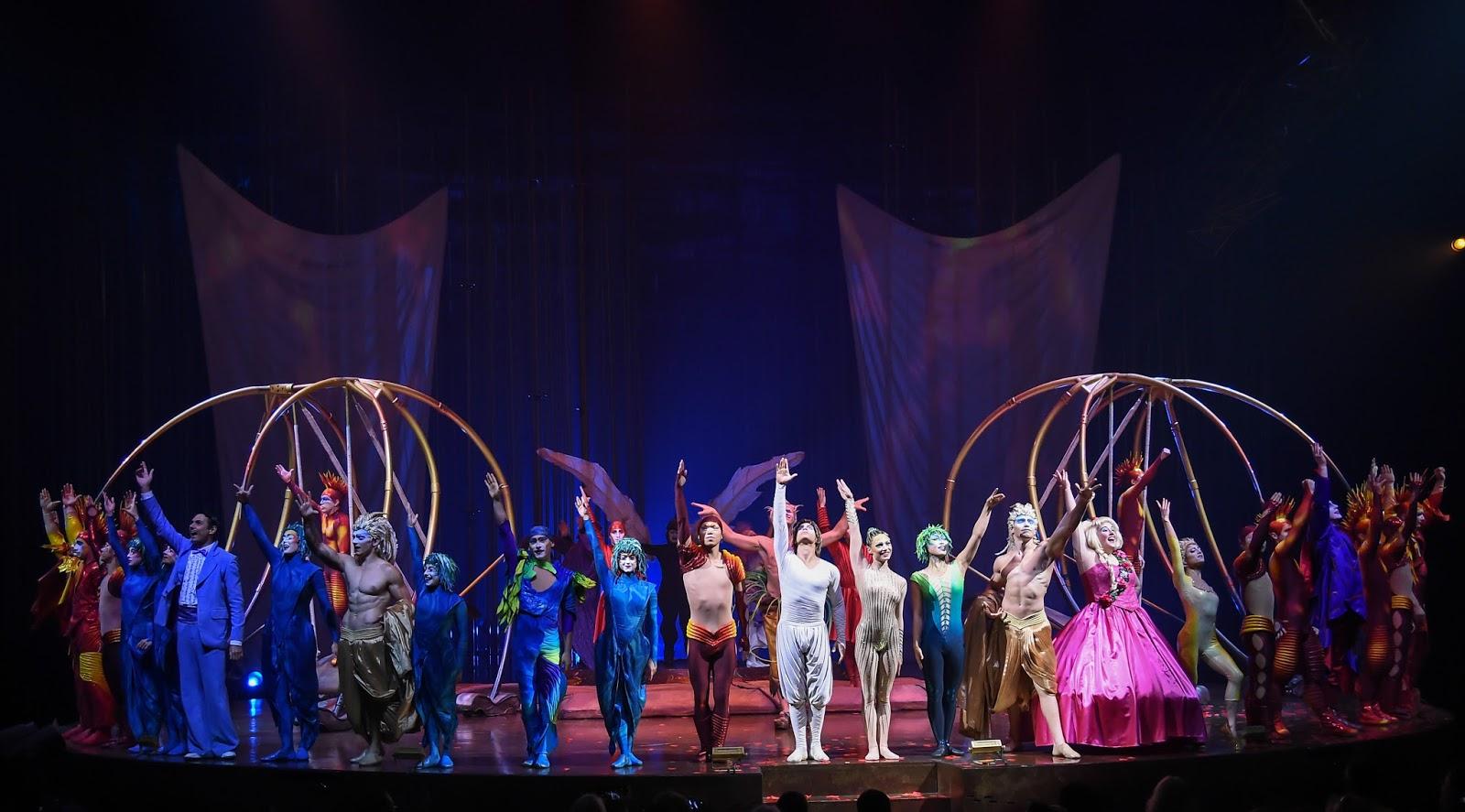 Cirque du Soleil Varekai | Newcastle Review & Tickets  - Full cast picture