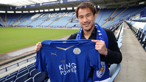 Shinji Okazaki hoàn tất chuyển nhượng sang Leicester City