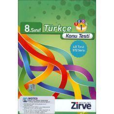 Zirve 8.Sınıf TEOG-1 Türkçe Konu Testi (2016)