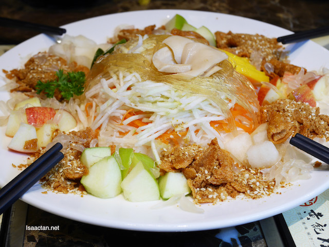Prosperity Yee Sang is available this CNY
