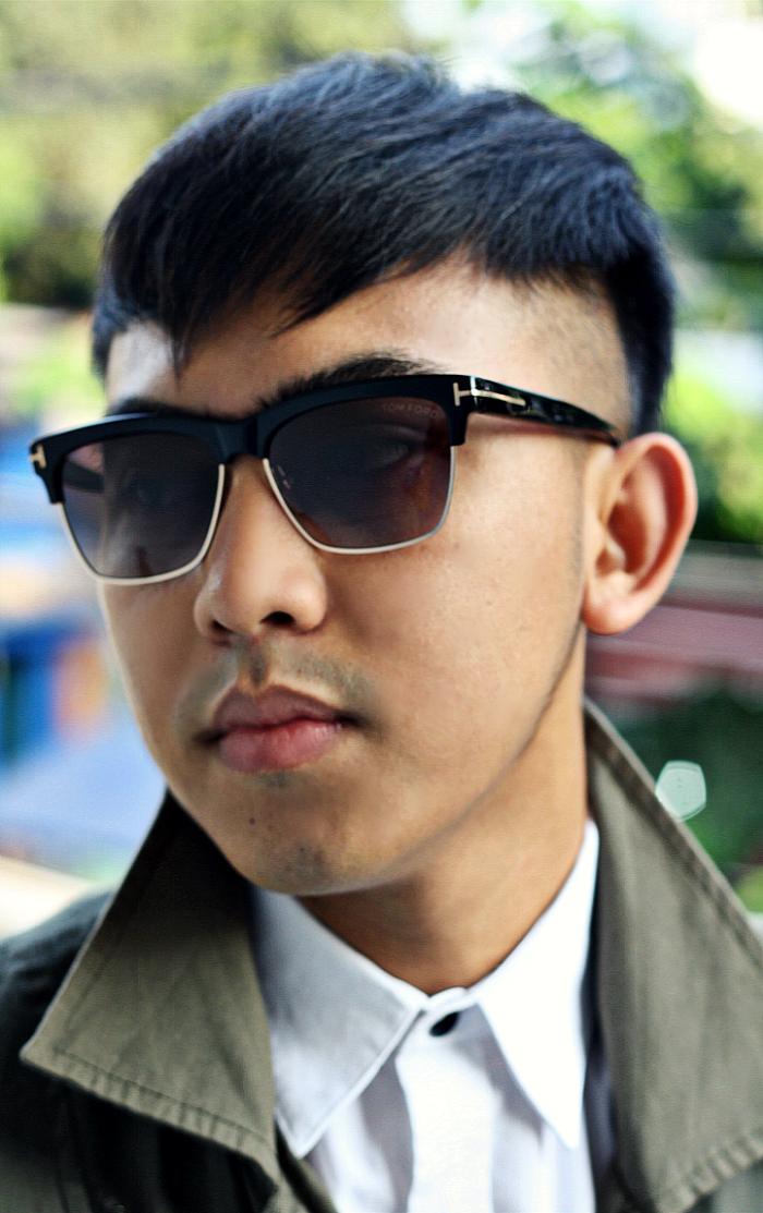 MEN'S FASHION BLOGGER INDONESIA IN TOM FORD SUNGLASSES