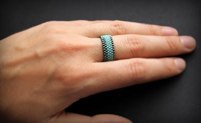 кольца на большой палец женские купить бижутерию из бисера ручной работы