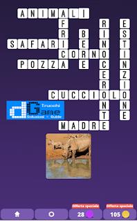 Soluzioni One Clue Crossword livello 17 schemi 6 (Cruciverba illustrato)  | Parole e foto
