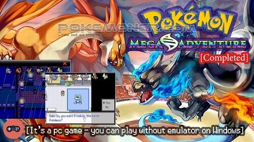 Pokemon Mega Adventure