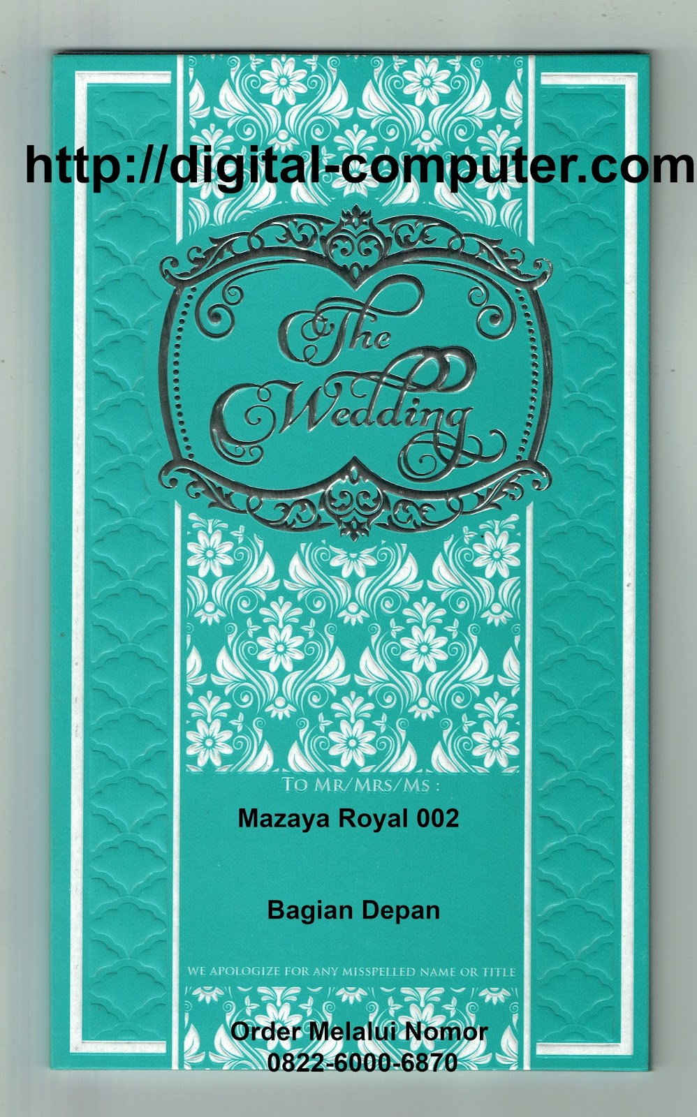 undangan hardcover Mz-Royal 002