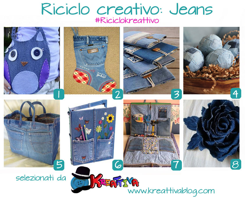 Amato 19 idee per un riciclo creativo dei jeans - Kreattivablog PI05
