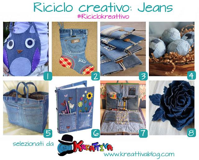 tutorial progetti creativi jeans