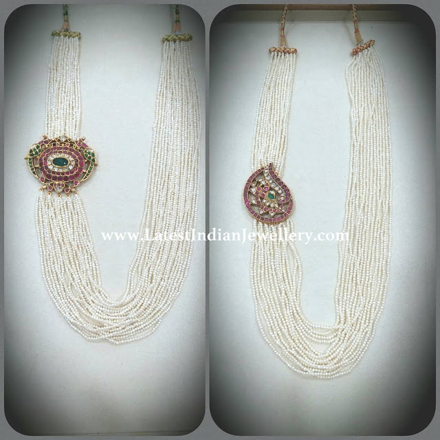 Kundan Side Pendants