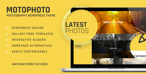 Premium Portfolio Photography Theme