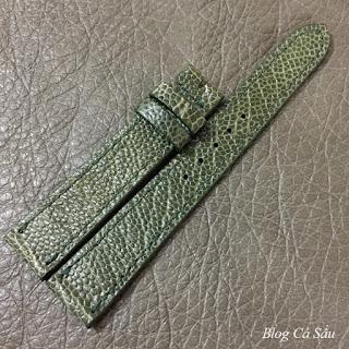 dây đồng hồ nữ da đà điểu d1