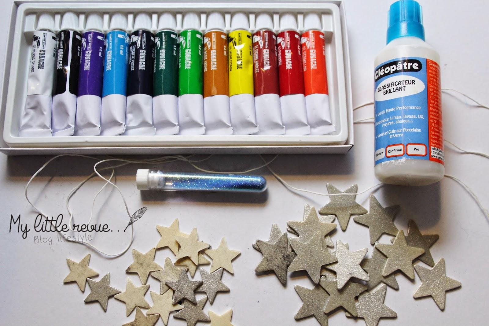DIY guirlande étoiles