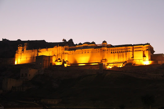 Forts & Palace of Rajasthan-India- Amber Or Amer Fort-Jaipur !!