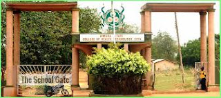 Kwara State College of Health Tech Offa Admission Form 2019/2020
