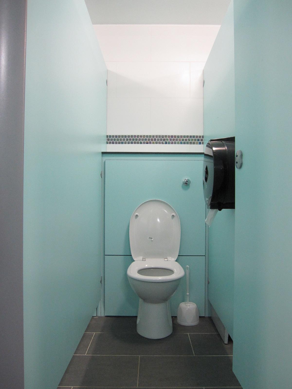 Appuldurcombe Gardens Toilet Cubicles