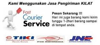 Pengiriman Melalui Via TIKI / JNE / POS Indonesia