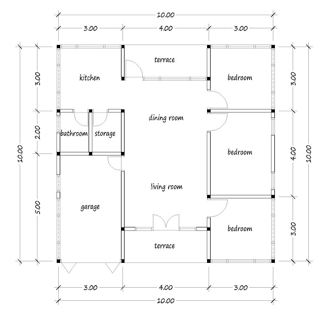 small house plan 19