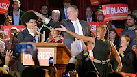 De Blasio the Italian-american Mayor-elect of NYC