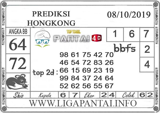 """PREDIKSI TOGEL """"HONGKONG"""" PANTAI4D 08 OKTOBER 2019"""