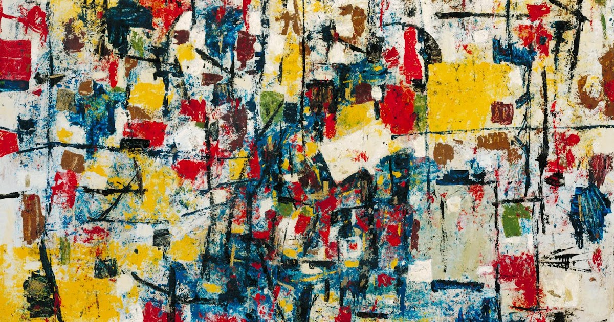 Ralph Rumney - Abstract Expressionism