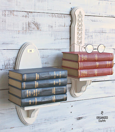Thrift Shop Sconces to Wall Book Shelves
