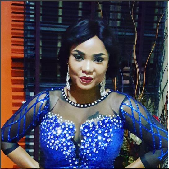 Actress Iyabo Ojo Looks Gorgeous In Lovely Gown
