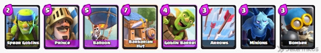 Clash Royale Arena 3 Barbarian Bowl