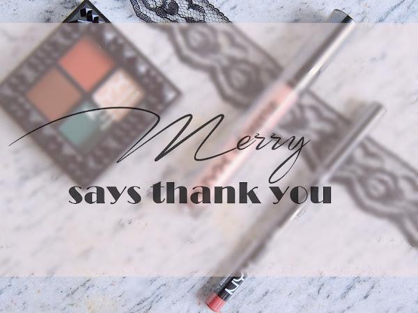 #MerrySaysThankYou feat. NYX
