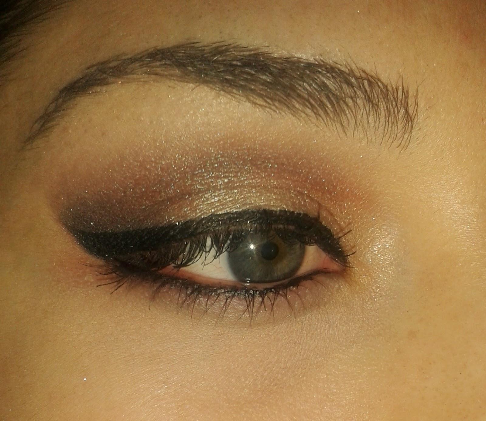 comfort zone göz makyajı