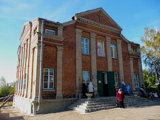 Костянтинівка. Церква св. пророка Іллі. Колишній кінотеатр «Будівельник»