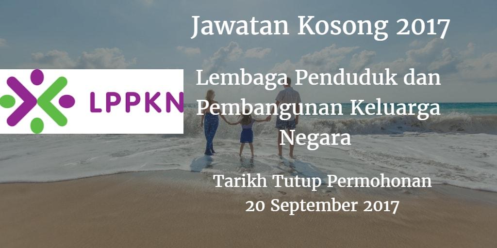 Jawatan Kosong LPPKN 20 September 2017