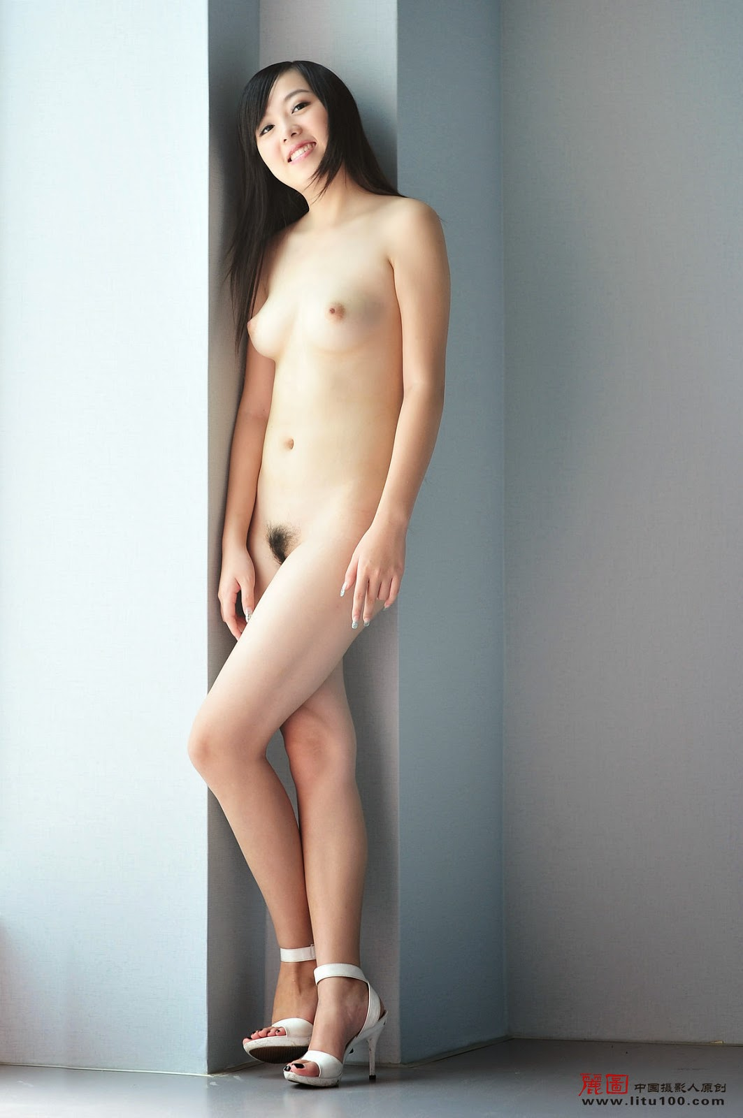 You China naked model she attractively
