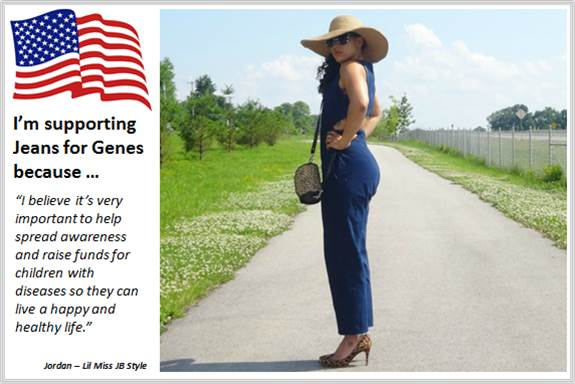 Sydney Fashion Hunter - Fashion Bloggers For Jeans For Genes - Lil Miss JB Style - USA