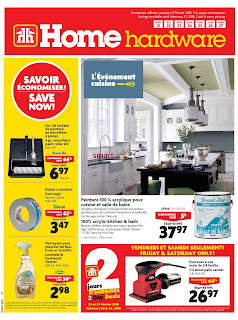 Home Hardware Flyer Building February 22 - 28, 2018