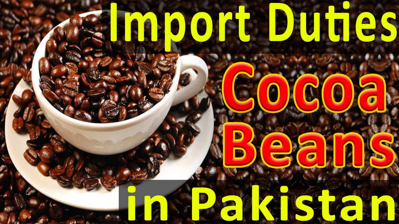Import-Duties-on-cocoa-beans-in-Pakistan