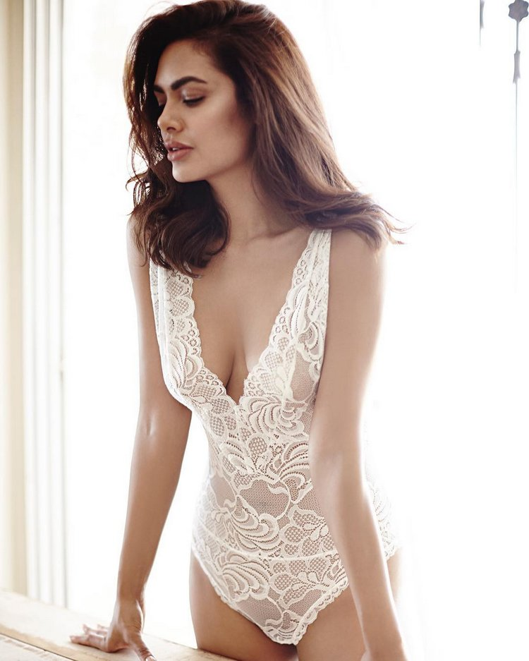 Esha Gupta Sizzles In Her Latest Lingerie Photoshoot