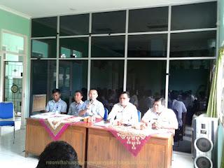Rapat Awal tahun 2018 di Kemenag Musi Rawas