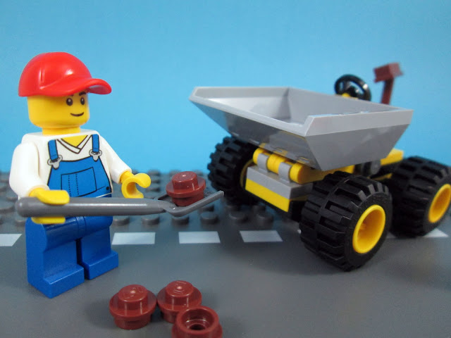 Set LEGO 30348 Mini Dumper