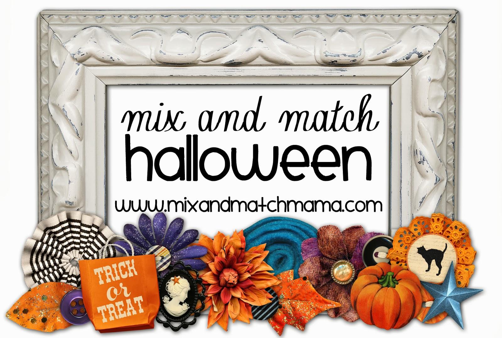 halloween popcorn mix and match mama. Black Bedroom Furniture Sets. Home Design Ideas