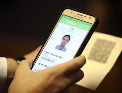 Contran aprova criação da habilitação digital; versão começa a valer em 2018