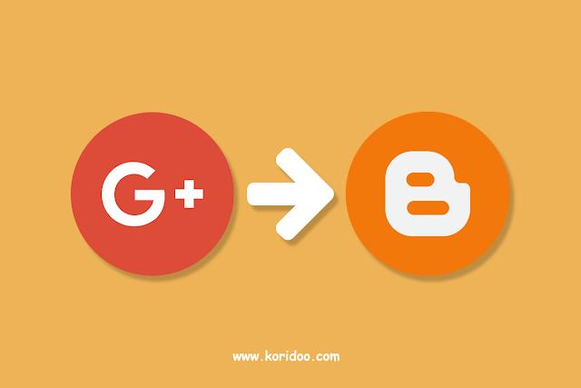 Cara Mengubah Profil Google+ Menjadi Profil Blog