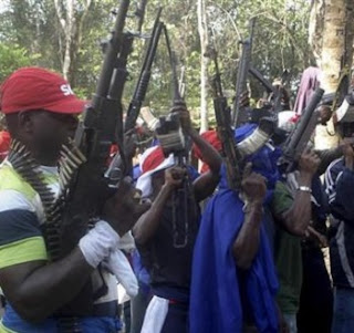 'War' Looms As Yoruba Militia Armed Up For Retaliation Against N'Delta Militants Over Attack In Ogun, Lagos: