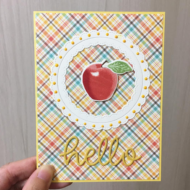 Sunny Studio Stamps: Fruit Cocktail Fancy Frames Customer Card by Kumiko Hata