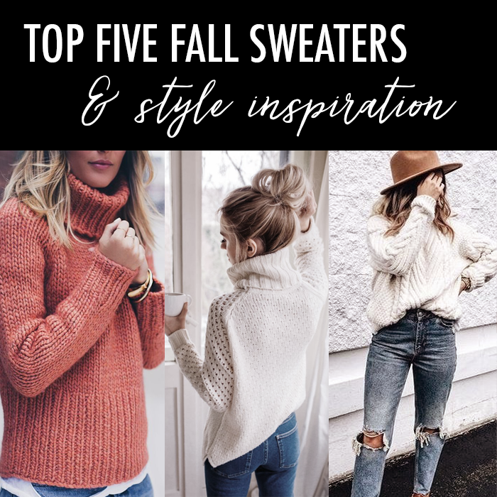 Daily Style Finds: Five Fall Sweaters to Buy