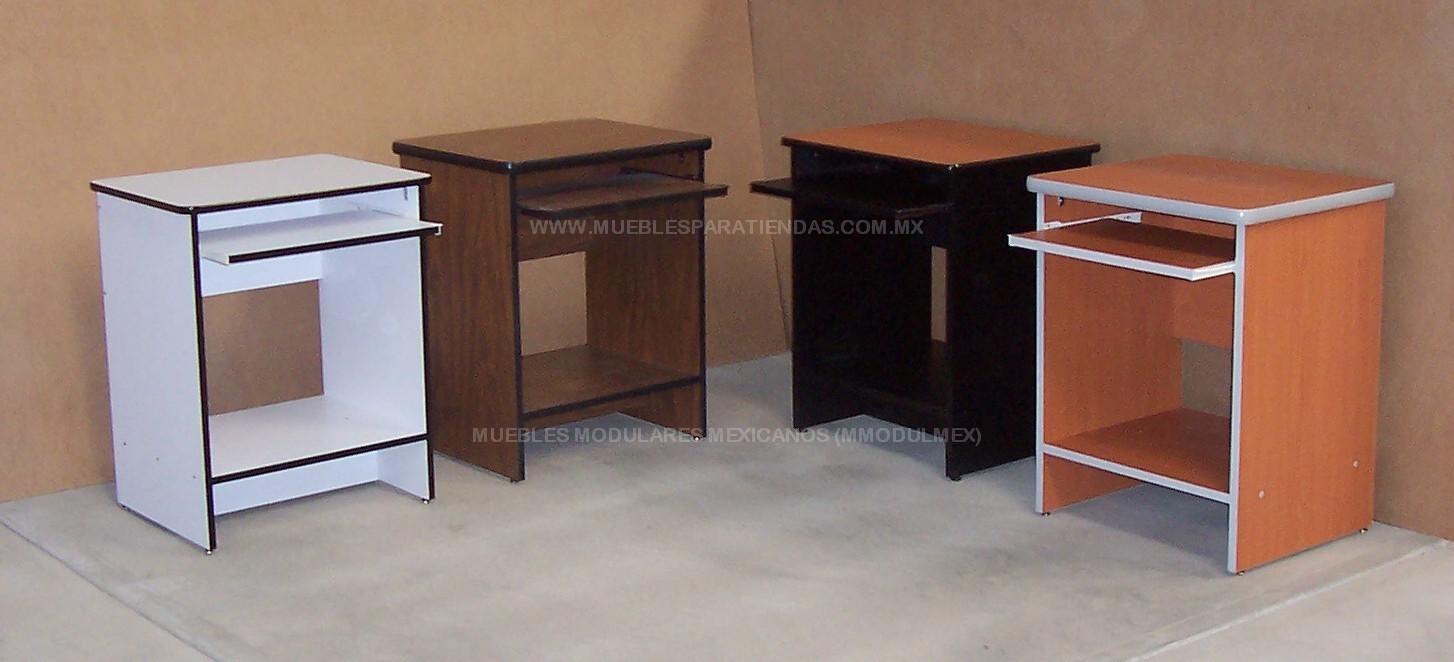 Mueble Para Pc Flotante