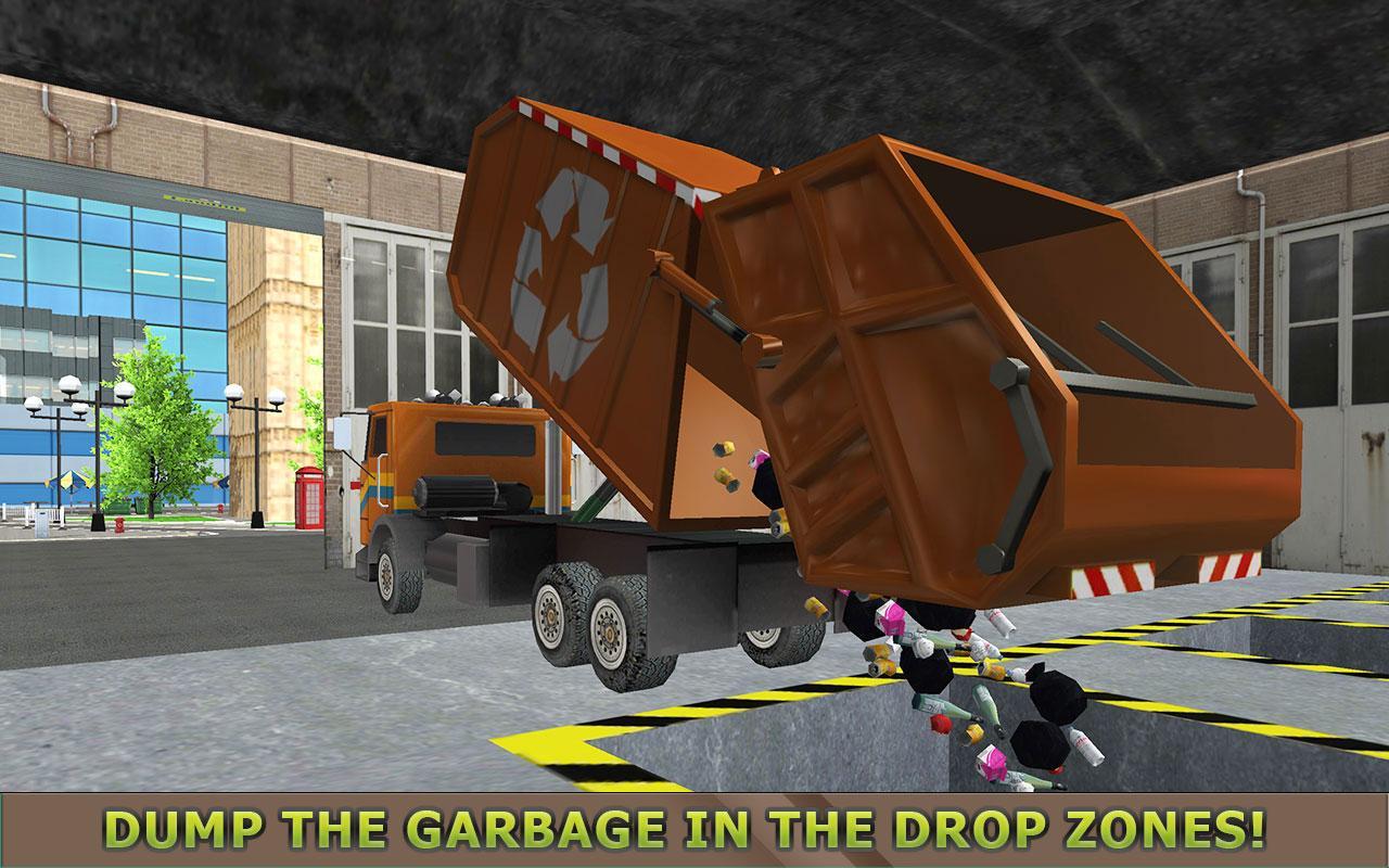 Garbage Truck Simulator PRO 2017 MOD APK